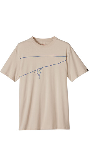 Prana M's Climb The Line T-Shirt Stone